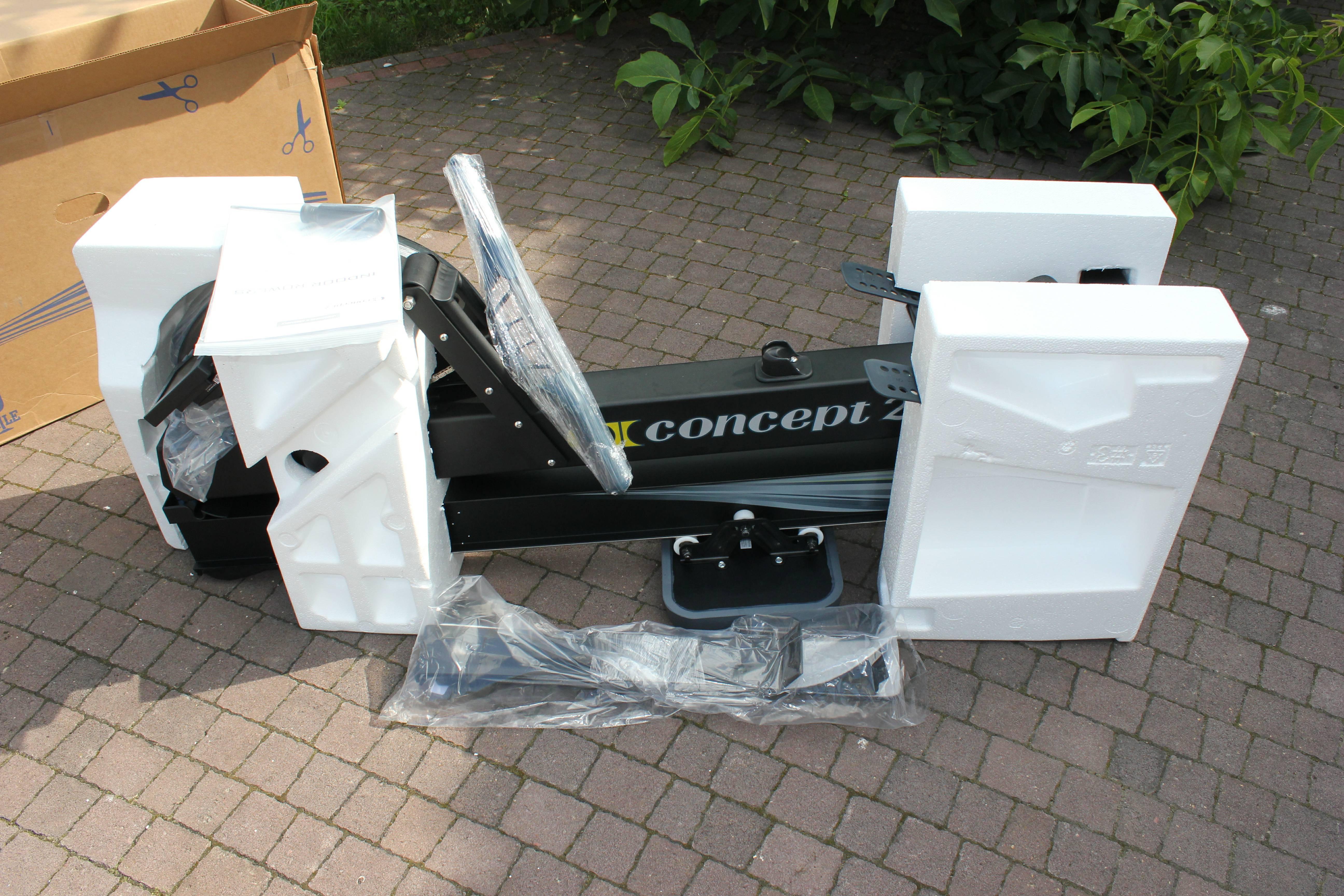 Гребной тренажер CONCEPT 2 MODEL D ROWER - PM5